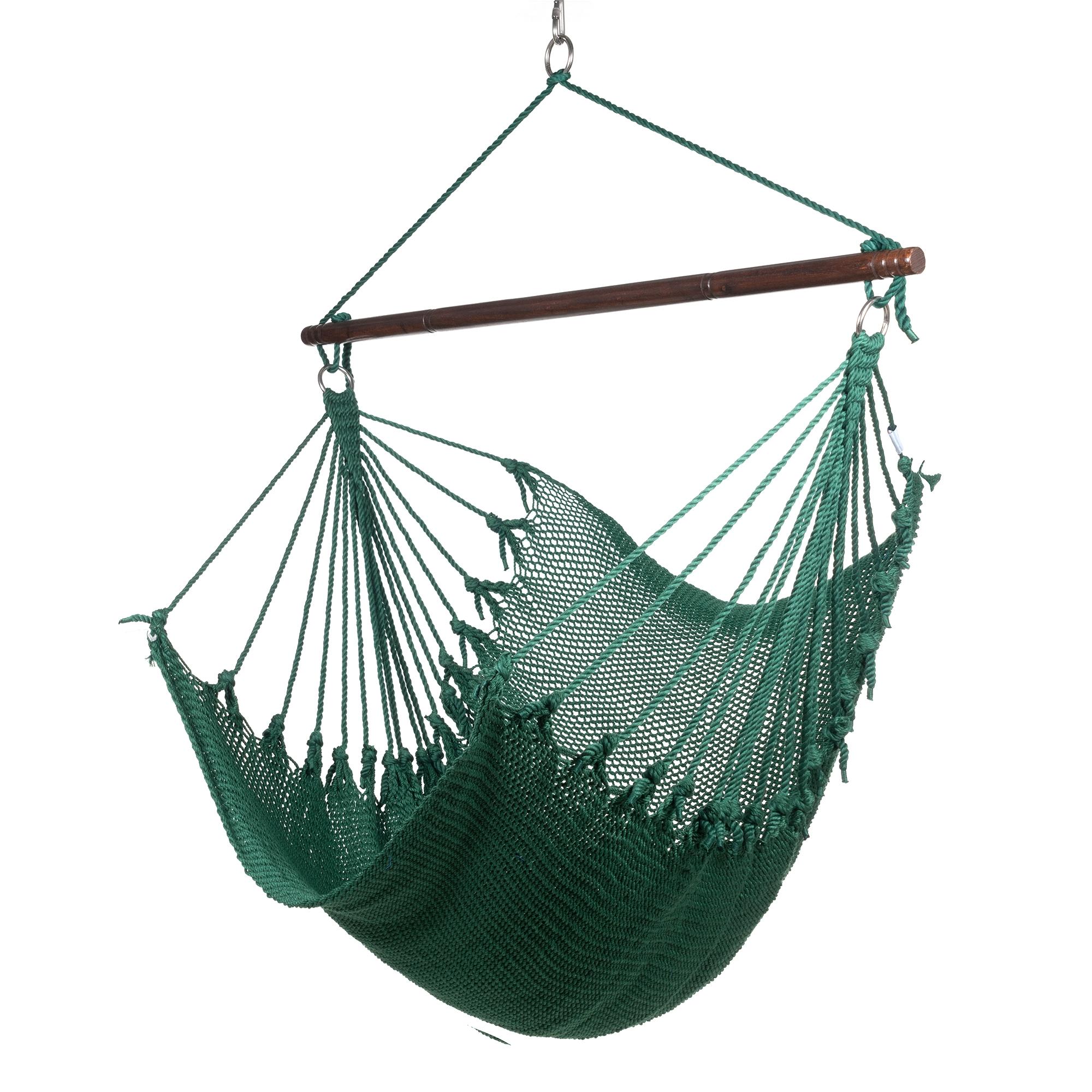 Jumbo Caribbean Hammock Chair 55 Inch Softspun Polyester