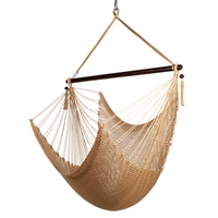 CARIBBEAN JUMBO HAMMOCK CHAIR (TAN)